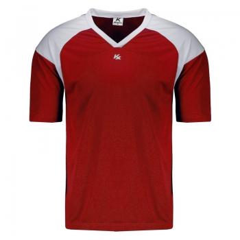 Camisa Kanxa Pop Linz Vermelha e Branca