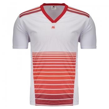 Camisa Kanxa Pop Tane Branca e Vermelha