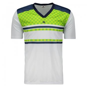 Camisa Kanxa Pop Veti Branca e Verde