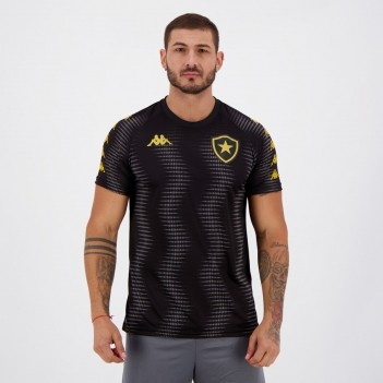 Camisa Kappa Botafogo Aquecimento 2020