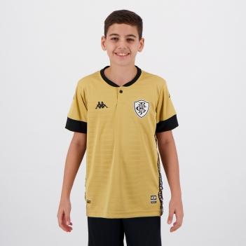 Camisa Kappa Botafogo Goleiro III 2021 Infantil