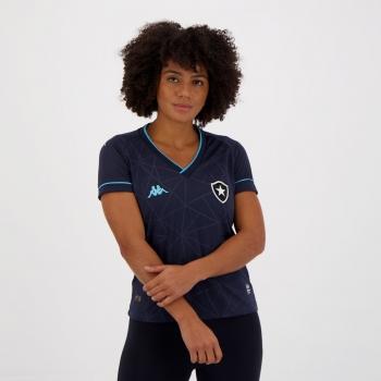Camisa Kappa Botafogo Goleiro IV 2021 Feminina