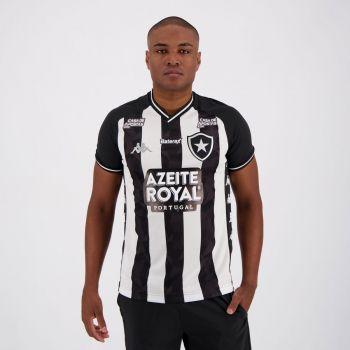 Camisa Kappa Botafogo I 2019 com Patrocínio