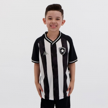 Camisa Kappa Botafogo I 2019 Infantil