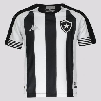 Camisa Kappa Botafogo I 2021 Infantil