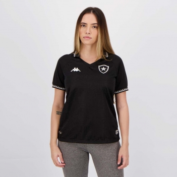 Camisa Kappa Botafogo II 2021 Feminina