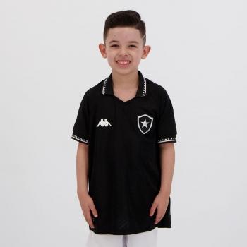 Camisa Kappa Botafogo II 2021 Infantil