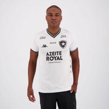 Camisa Kappa Botafogo III 2019 com Patrocínio