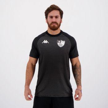 Camisa Kappa Botafogo Waves Supporter Preta