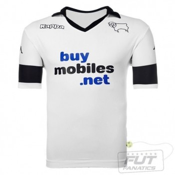 Camisa Kappa Derby County Home 2014