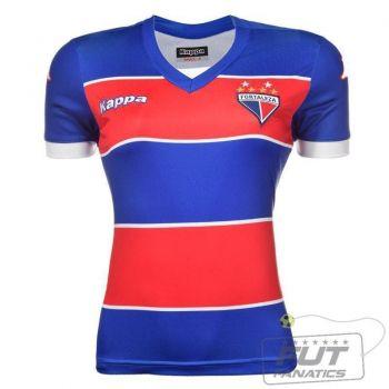 Camisa Kappa Fortaleza I 2014 Feminina