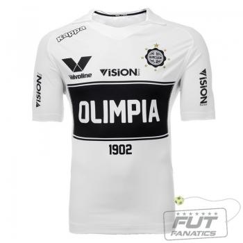 Camisa Kappa Olimpia Home 2014