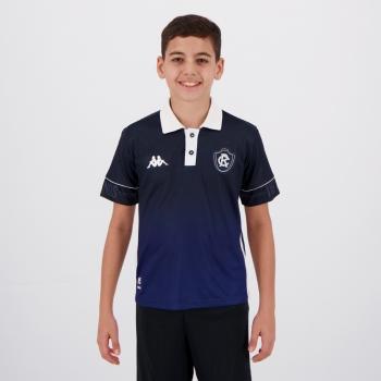 Camisa Kappa Remo IV 2020 115 Anos Infantil
