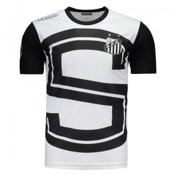 Camisa Kappa Santos Aquecimento 2017