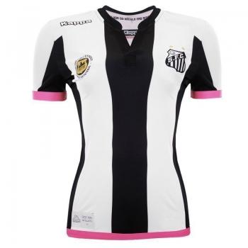 Camisa Kappa Santos II 2016 Feminina