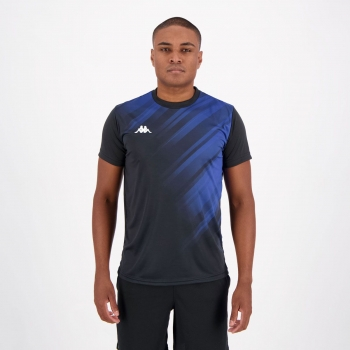 Camisa Kappa Shine Azul