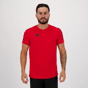 Camisa Kappa Sport Vermelha