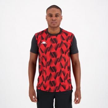 Camisa Kappa Tré Vermelha