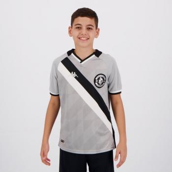 Camisa Kappa Vasco Goleiro III 2021 Juvenil