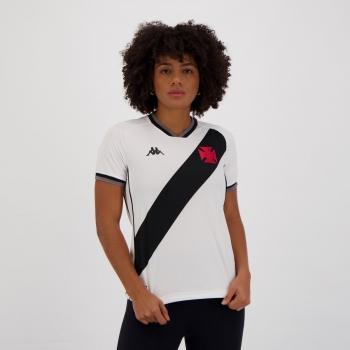 Camisa Kappa Vasco II 2021 Feminina
