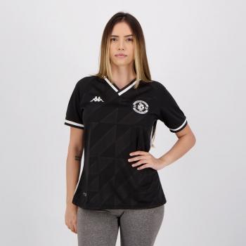 Camisa Kappa Vasco III 2021 Feminina