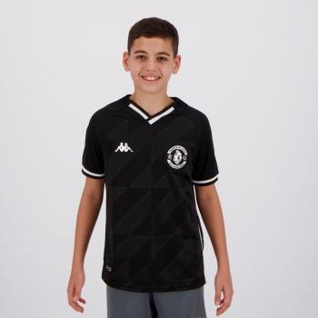 Camisa Kappa Vasco III 2021 Juvenil