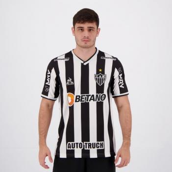 Camisa Le Coq Atlético Mineiro I 2021 Patch Libertadores
