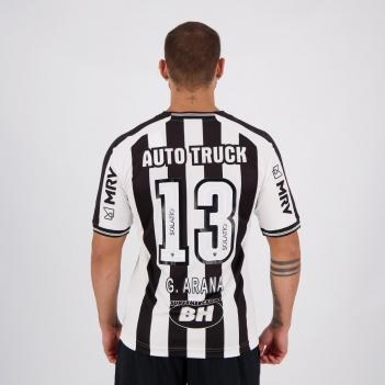 Camisa Le Coq Sportif Atlético Mineiro I 2020 N°13 G. Arana Com Patrocínio