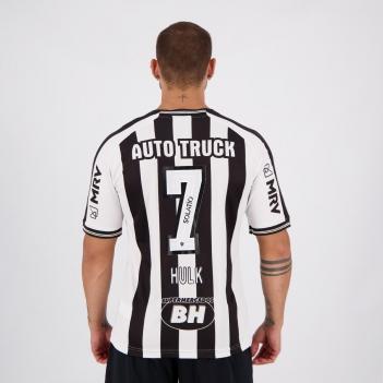 Camisa Le Coq Sportif Atlético Mineiro I 2020 N° 7 Hulk Com Patrocínio