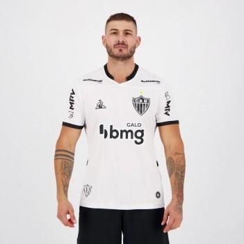 Camisa Le Coq Sportif Atlético Mineiro II 2020 com Patrocínio BMG