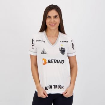 Camisa Le Coq Sportif Atlético Mineiro II 2021 Feminina