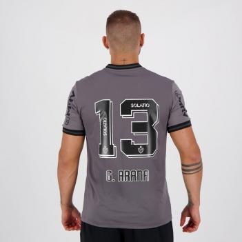 Camisa Le Coq Sportif Atlético Mineiro III 2020 N°13 G. Arana