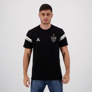 Camisa Le Coq Sportif Atlético Mineiro Viagem 2021 Preta