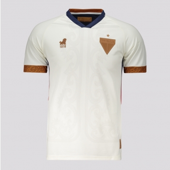 Camisa Leão 1918 Fortaleza Copa do Nordeste 2021 Juvenil