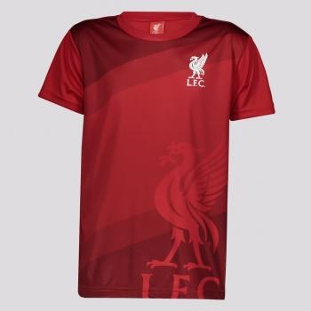 Camisa Liverpool Anfield Juvenil Vermelha
