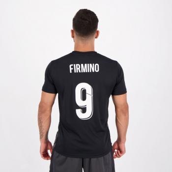 Camisa Liverpool James Preta 9 Firmino