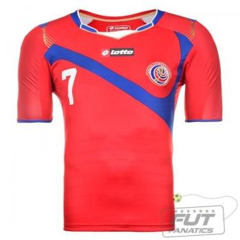 Camisa Lotto Costa Rica Home 2014 7 Bolaños C.