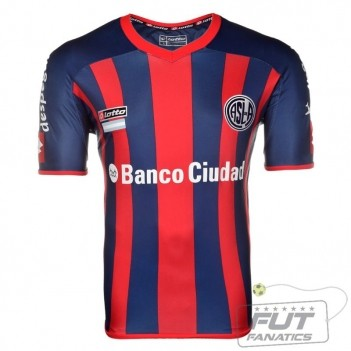 Camisa Lotto San Lorenzo Home 2014