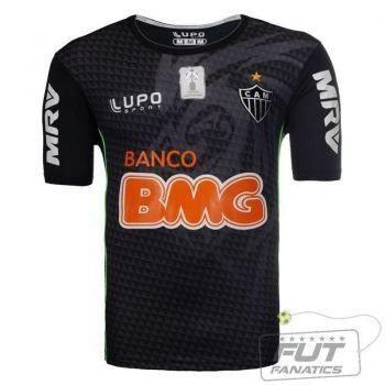 Camisa Lupo Atlético Mineiro Goleiro 2013 Preto