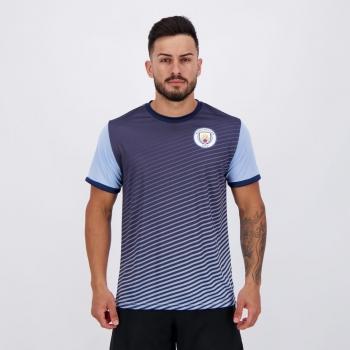 Camisa Manchester City Dry Nicholas Azul