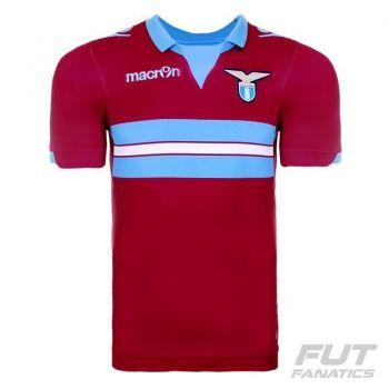 Camisa Macron Lazio Away 2015 Authentic