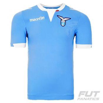 Camisa Macron Lazio Home 2015 Authentic