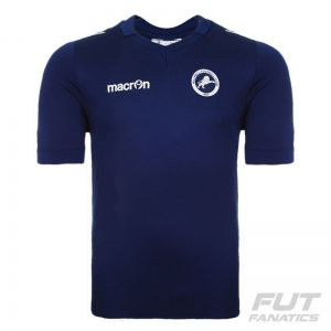 Camisa Macron Millwall Home 2015 Authentic