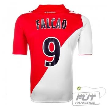 Camisa Macron Monaco Home 2014 9 Falcao