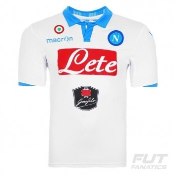 Camisa Macron Napoli Third 2015 Authentic