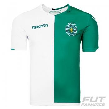 Camisa Macron Sporting Lisboa Fourth 2015 Stromp Authentic
