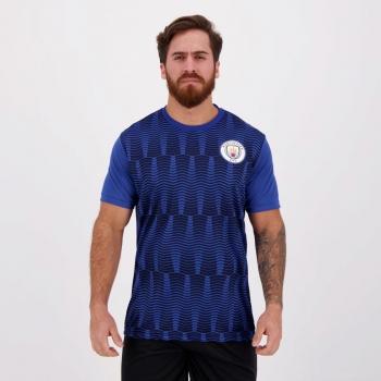 Camisa Manchester City George Azul