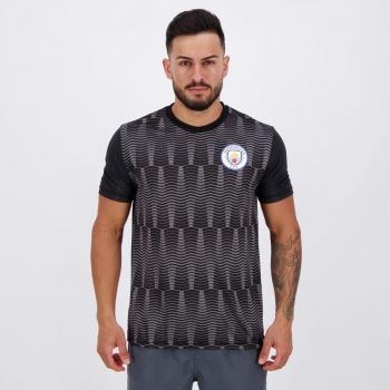 Camisa Manchester City George Preta