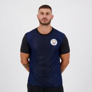 Camisa Manchester City Hector Preta e Azul