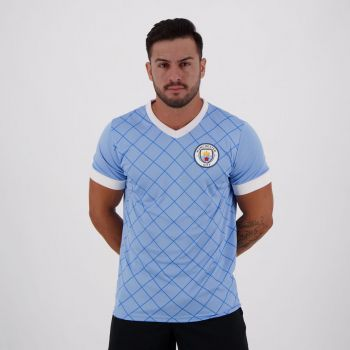 Camisa Manchester City Pattern
